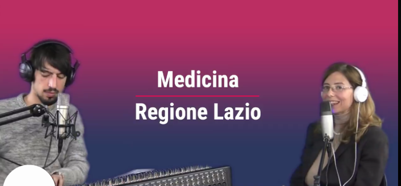 Intervista della dr.ssa Fioretti a Medicina Regione Lazio