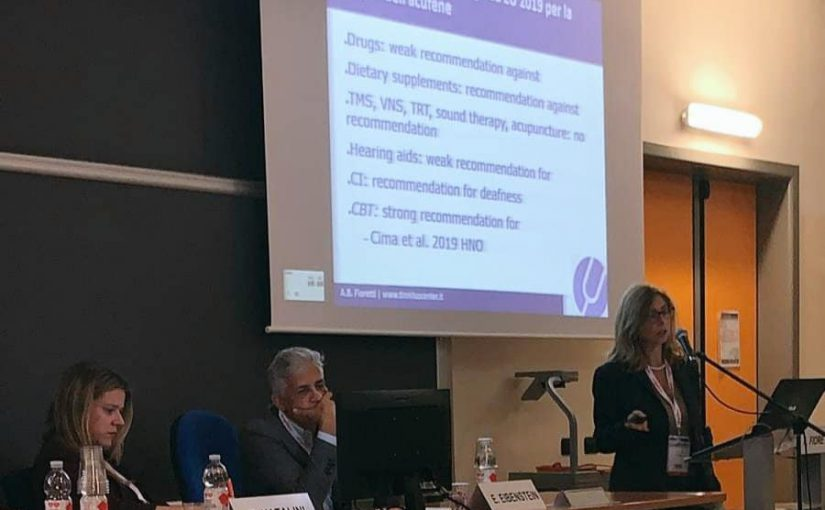 Acufene invalidante. Congresso nazionale SIAF a Modena